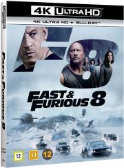 fast and furious 8 - 4k Ultra HD Blu-Ray