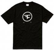 faze clan t-shirt med cirkel logo i sort - xl - Merchandise