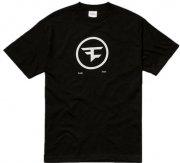 faze clan t-shirt med cirkel logo i sort - xs - Merchandise