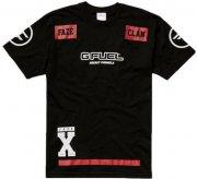 faze clan player jersey shortsleeve / esport trøje i sort - s - Merchandise