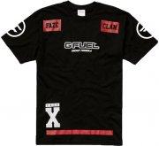faze clan player jersey shortsleeve / esport t-shirt i sort - xxl - Merchandise