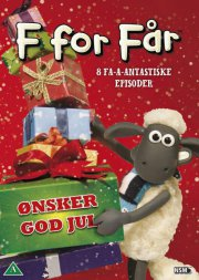 f for får / shaun the sheep - ønsker god jul - DVD
