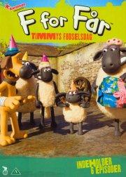 f for får / shaun the sheep - sæson 4 vol. 5 - DVD