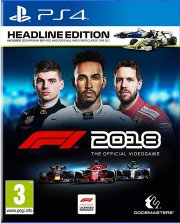 f1 2018: headline edition - PS4