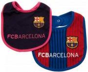 fc barcelona merchandise til baby - hagesmæk - 2-pak - Babyudstyr