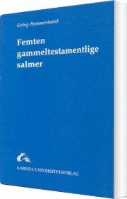 femten gammeltestamentlige salmer - bog