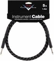 fender custom shop cable / instrumentkabel - sort - 1,5 m - Musikinstrumenter