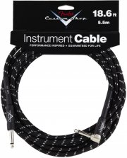 fender custom shop cable / instrumentkabel - sort - 5,5 m - Musikinstrumenter