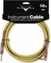 fender custom shop cable / instrumentkabel - gul - 3 m - Musikinstrumenter