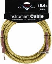 fender custom shop performance vinkel/lige tweed instrument jack kabel (5,5 m) - Musikinstrumenter