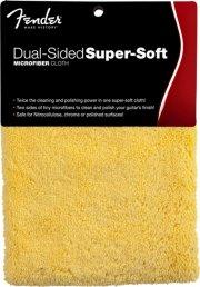fender dual-sided super-soft microfiber cloth / rengøringsklud til guitar - Musikinstrumenter