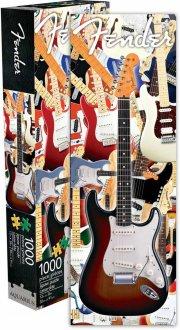fender guitar puslespil med 1000 brikker - Brætspil