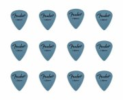 fender rock-on touring picks / plektre til guitar 1,00 mm - 12 stk. - Musikinstrumenter