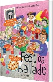 fest og ballade - bog