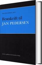 festskrift til jan pedersen - bog
