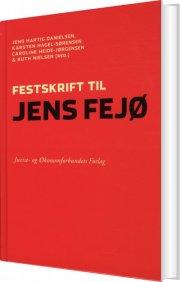 festskrift til jens fejø - bog