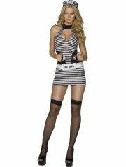 fever - jail diva costume - small (32680s) - Udklædning Til Voksne