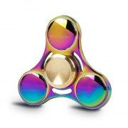 fidget spinner - aluminium - rainbow - Diverse