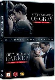 fifty shades of grey // fifty shades darker - DVD