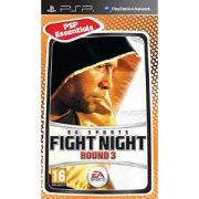 fight night round 3 (essentials) - psp