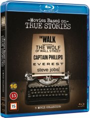 steve jobs // the walk // everest // the wolf of wall street // captain phillips - Blu-Ray