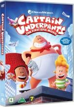 kaptajn underhyler / captain underpants - DVD