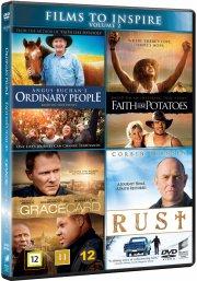 angus buchan's ordinary people // faith like potatoes // the grace card // rust - DVD