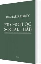 filosofi og socialt håb - bog