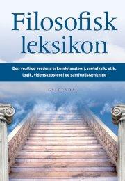 filosofisk leksikon - bog