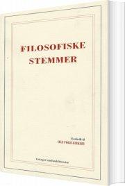 filosofiske stemmer - bog