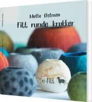 filt runde krukker - bog