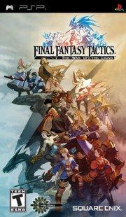 final fantasy tactics the war of the lions (essentials) - psp