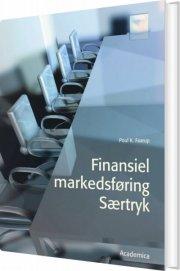 finansiel markedsføring - særtryk - bog