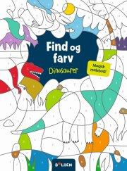 malebog - find og farv dinosaurer - en magisk malebog - Kreativitet