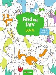 malebog - find og farv dyrene - en magisk malebog - Kreativitet
