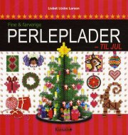 fine og farverige perleplader til jul - bog