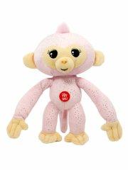 fingerlings abe bamse - 25 cm - rosa - Interaktiv