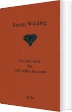 fire skilderier fra 1700-tallets danmark - bog