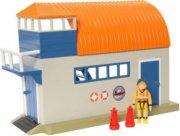 brandmand sam - bådhus med figur - Figurer