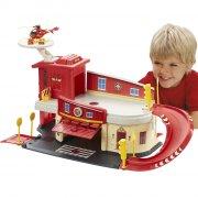 brandmand sam - brandstation legesæt - Køretøjer Og Fly