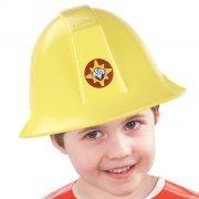 brandmand sam kostume / udklædning - hjelm med lyd - Udklædning