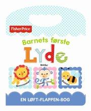 fisher-price flapbog: barnets første lyde - bog