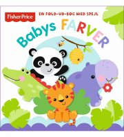 fisher-price leporello: babys farver - bog