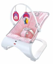 fisher price vippestol - lyserød - Babyudstyr