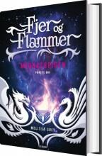 fjer og flammer 1: midnatspigen - bog