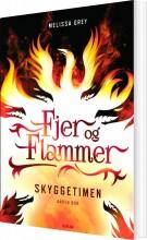 fjer og flammer 2: skyggetimen - bog