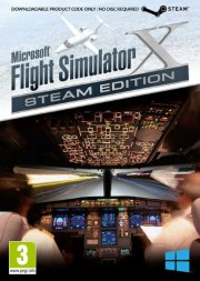 flight simulator x - boxed steam edition - PC