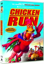 flugten fra hønsegården / chicken run - DVD
