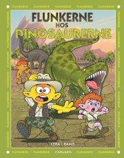 flunkerne møder dinosaurerne - bog