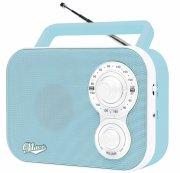 fm radio - lyseblå  - Tv Og Lyd